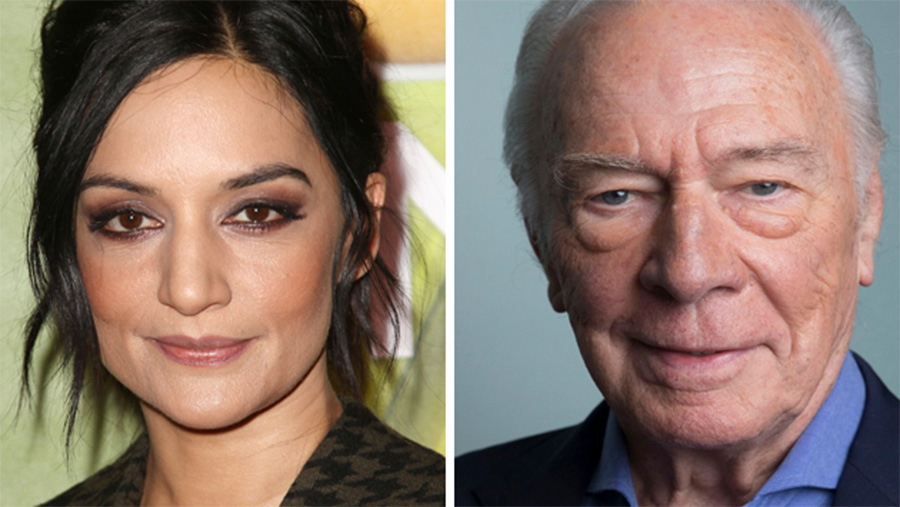 Archie Panjabi, Christopher Plummer Embark For 'Departure' Event Series